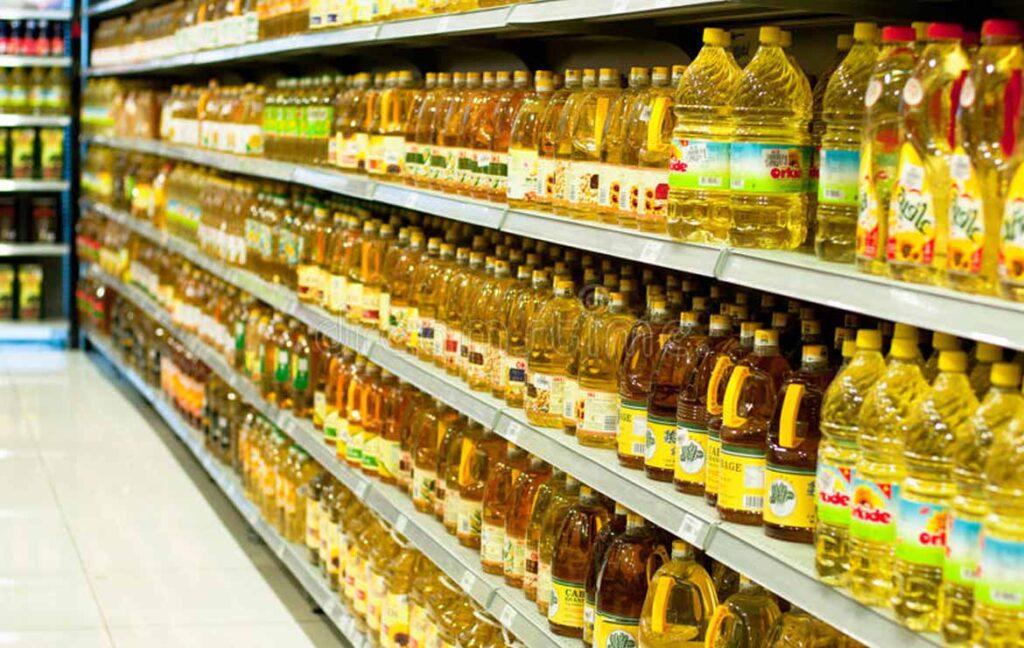 قیمت روز روغن در فروشگاه ها